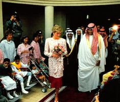 1986-11-18 Diana visits a House for Handicapped Children in Riyadh, Saudi Arabia