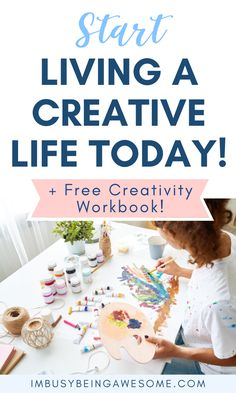 Want to live a more creative lifestyle? Do you want some creative inspiration? Click through for tips on how to increase artistic creativity today!