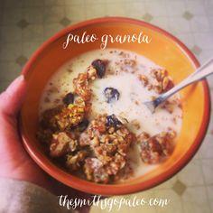 #paleo granola! delicious!