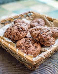 WhenIAte: Double Chocolate Chip Cookies