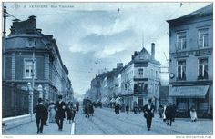 Verviers - Rue Tranchée - SBP n°8 - Brasserie des Augustins - Belle animation - Pas courante