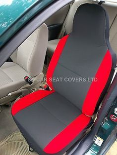 Bmw x1 / x5 / x6 car seat #covers - #anthracite + #alcantara red bolsters,  View more on the LINK: 	http://www.zeppy.io/product/gb/2/380733816508/