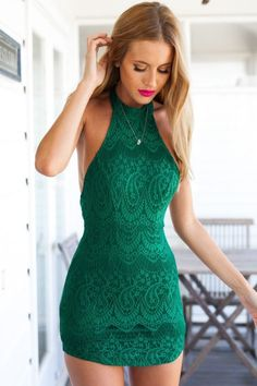 Stunning and Sexy Halter Dress Outfits For 20160301