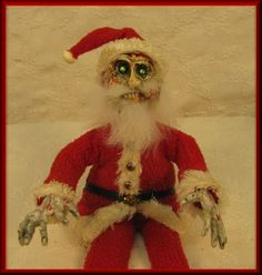 Witch~Kringle: Zombie Santa Claus :  This is just wrong!!