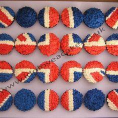 Jubilee Weekend. Wedding British Theme  British Wedding Theme. Red, White and Blue themed Wedding.