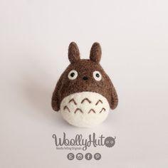 Needle Felted Totoro, Felted Tonari no Totoro