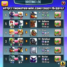 monster legends how to breed new legendary