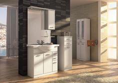 Aqua Line 70 3D2S.  #elita #meble #lazienka #aqua #line #bathroom #furniture