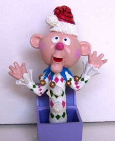 Charlie-in-the-Box from Island of Misfit Toys, TV's Rudolph the Red-Nosed Reindeer
