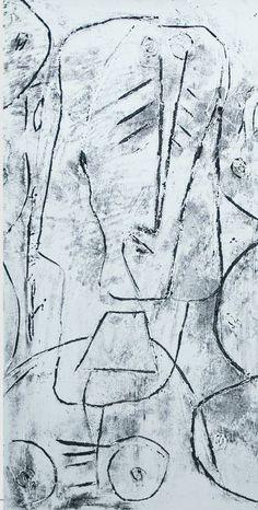 "Saatchi Art Artist remus-lucian stefan; Printmaking, ""archetype 4"" #art"