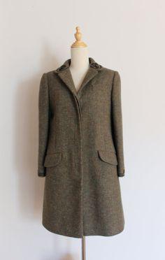 1960s John Meyer of Norwich wool coat / vintage by inheritedattire