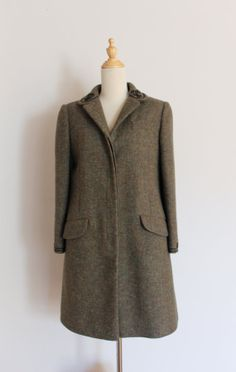 1960s John Meyer of Norwich wool coat / vintage by inheritedattire