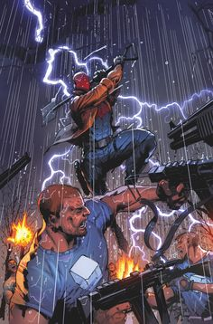 The Full DC Comics June 2018 Solicitations! Heros Comics, Dc Heroes, Comic Books Art, Comic Art, Book Art, Geeks, Red Hood Dc, Superhero Images, Deadpool Funny