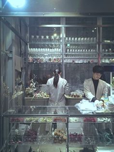 """""""性癖に突き刺さるドライフラワーやさん。 季節ごとに変わるお花を選んだら白衣のお兄さんが袋詰めしてくれる。処方箋付き。"""" Azuma Makoto, Artist Workspace, Mtg Art, Lost Soul, Visual Merchandising, Botany, Wonders Of The World, Design Inspiration, Photography"""