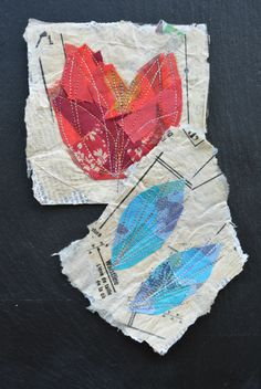 Learn Something New – Machine Embroidery and Papier Mache