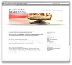 Webdesign Rechtsanwälte Schwarz & Partner