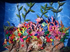 origami coral reef