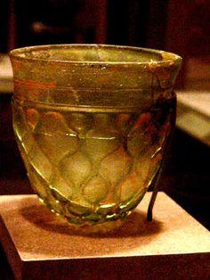Sasanian glass bowl