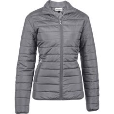 The Hudson Ladies Jacket Is A Polyester, Fully Padded Quilted Jacket With Slanted Zipped Pockets, Elasticated Binding On The Bottom Hem And Sleeves. Quilted Jacket, Jackets For Women, Winter Jackets, Lady, Sleeves, Stuff To Buy, Clothes, Fashion, Cardigan Sweaters For Women