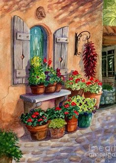 """""""Tia Rosa's Place""""- Set of 10 Greeting Cards"""