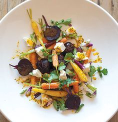 Baby beetroot and carrot salad with ClemenGold-and-poppy seed dressing Beetroot And Carrot Salad, Outdoor Kitchen Grill, Poppy Seed Dressing, Baby Carrots, Food Categories, Side Recipes, Summer Salads, Recipe Collection, Feta