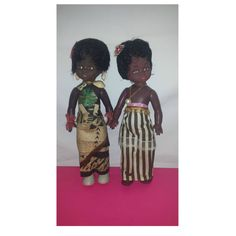 Vintage Kenya Style Doll, Black Doll,  Vintage Dolls from Around the World, Kenya, Black Doll, Fiji, Africa, Gift for Girl, Doll Collector by JunkYardBlonde on Etsy