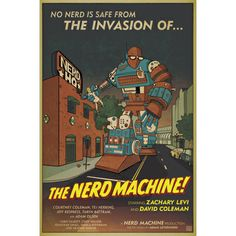 » 2011 Nerd HQ Poster The Nerd Machine #IWantMyNerdHQ