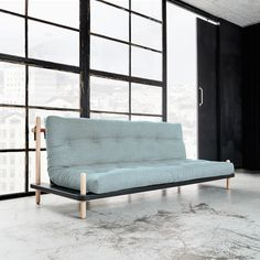 Karup Partners A/S - Lead Supplier of futon - futons and futon beds world wide. Japan Design, Sofa Cama Individual, Futon Bed, Sofa Beds, Office Sofa, Compact Living, Blue Bedroom, Small Apartments, Love Seat
