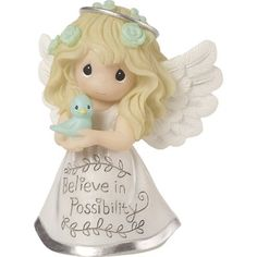 The Power Of Belief, Uplifting Messages, Precious Moments Figurines, Collectible Figurines, Baby Clothes Shops, Believe, Aurora Sleeping Beauty, Creations, Kids Shop