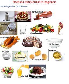 German for all Deutsch für alle: Mittagessen und Nachtisch