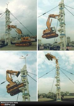 There are heavy equipment operators and then there's this guy!