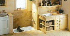 I never knew I cared about utility rooms/mud rooms until I saw this.