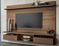 painel home theater suspenso livin 2.2 machiato hb móveis