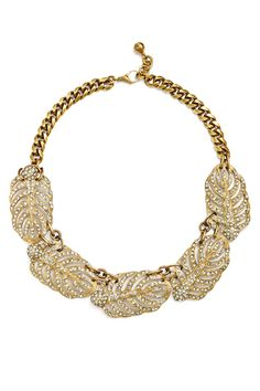 Rent Drifting Leaves Necklace by Lulu Frost for $50 only at Rent the Runway.
