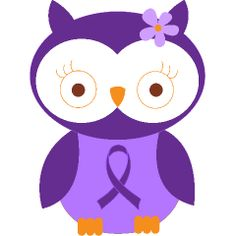 Lupus (purple ribbon also stands for Chiari malformation, fibromyalgia, etc.) Awareness Owl this one is a constant reminder of the amazing person my best friend is. Lupus Facts, How To Treat Pcos, Pcos Fertility, Pancreatic Cancer Awareness, Lung Cancer, Autism Awareness, Down Syndrom, Chiari Malformation, Polycystic Ovarian Syndrome