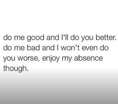 Factss| I won't even waist my time doing you wrong , that shit dead asf , that's a good bye to you