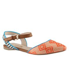 $60 LUCYNA ALDO Shoes. These aztec inspired flats are the perfect blend of ballerina and sandal. A summer must-have!