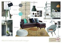 PLANCHE Bleu Turquoise, Outdoor Furniture Sets, Outdoor Decor, Architecture, Decoration, Interior Design, Mood, Polyvore, Home Decor