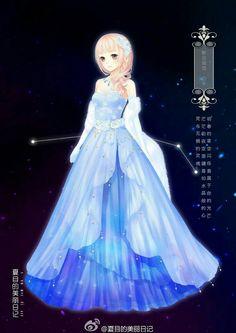 Goddess of constellations