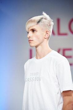 Hair by Lothar Weissmann - Sassoon Academy - Salon International 2013-pin it from carden