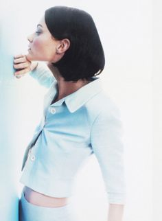 Shalom Harlow for Jil Sander Spring 1995 Campaign by Craig McDean. Found on www.vfiles.com via Tumblr