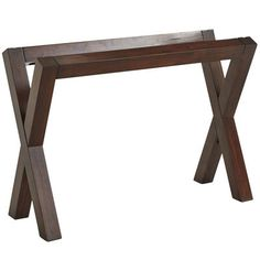 Bennett Mahogany Brown Desk Base | Pier 1 Imports