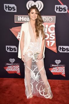 Singer Sofia Reyes attends the 2017 iHeartRadio Music Awards which broadcast live on Turner's TBS, TNT, and truTV at The Forum on March 5, 2017 in Inglewood, California.