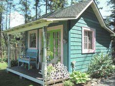 Casinha perfeita Casas lindas e simples Chalés pequenos