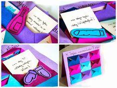 """Co byste popřáli své kamarádce k narozeninám?    V tomto podzimním nečase jsem se rozhodla vyrobit """"neklasické"""" narozeninové přání, které j... Diy And Crafts, Crafts For Kids, Tamara, Birthdays, Presents, Drawings, Gifts, Handmade, Inspiration"""