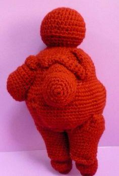 PDF Crochet Amigurumi Pattern - Venus of Willendorf . . .