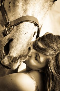 There's no bond quite like the one between a cowgirl & her horse.