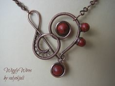 Wire wrapped music :-)