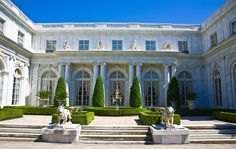 Rosecliff Mansion, Newport, RI Closeup