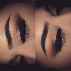 Soft sparkles #makeupeyebrows